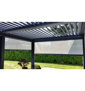 Store Coulissant Pergola Zip-Side