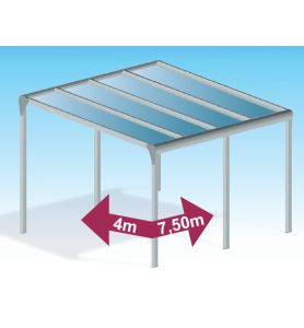 Pergola Polycarbonate Auto-portée direct usine