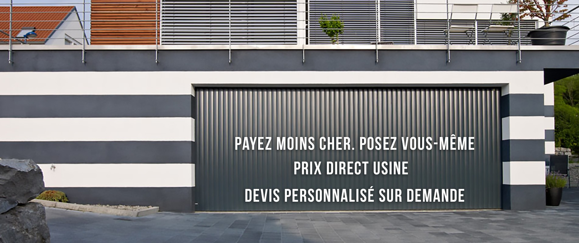 Porte de garage prix direct usine